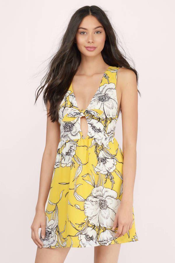 Ellen Floral Swing Dress