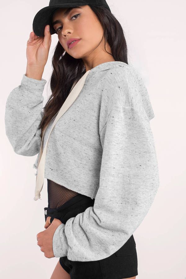 Trendy Ideas For Summer Outfits Search Quot Relax A Bit Grey Crop Hoodie Quot On Tobi Com Light