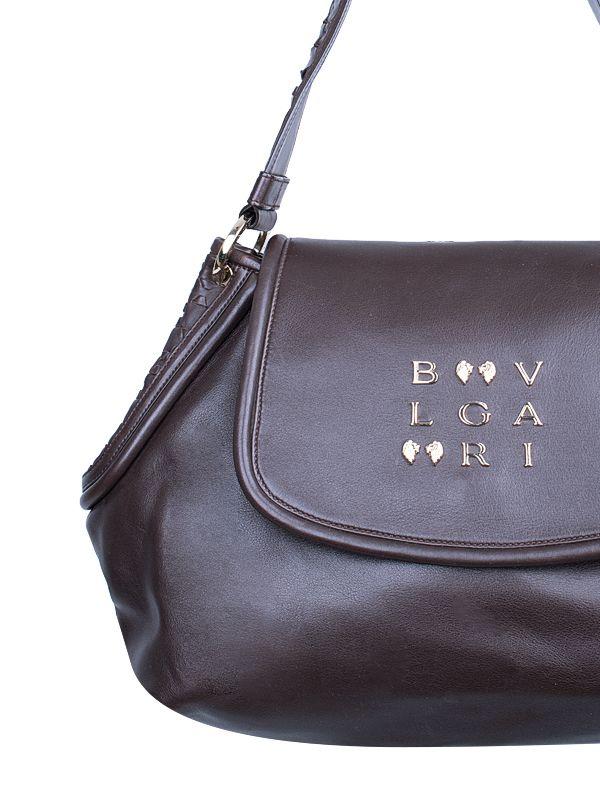 Bvlgari Leoni Leather Hobo Bag