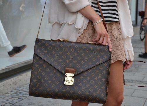 Louis Vuitton Fashion Street Style
