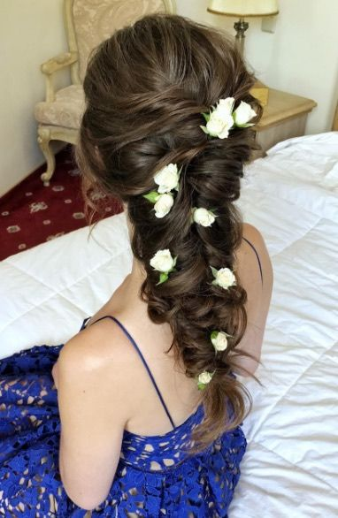 Featured Hairstyle: Hair by Zolotaya; www.instagram.com/hair_by_zolotaya; Wedd...