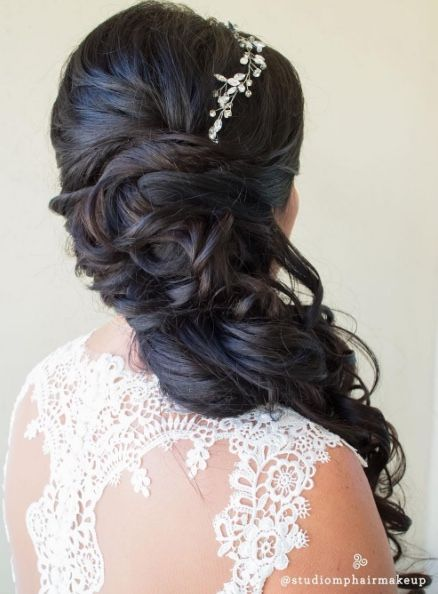 Featured Hairstyle: Studio Marie-Pierre; www.studiomariepierre.com; Wedding ha...