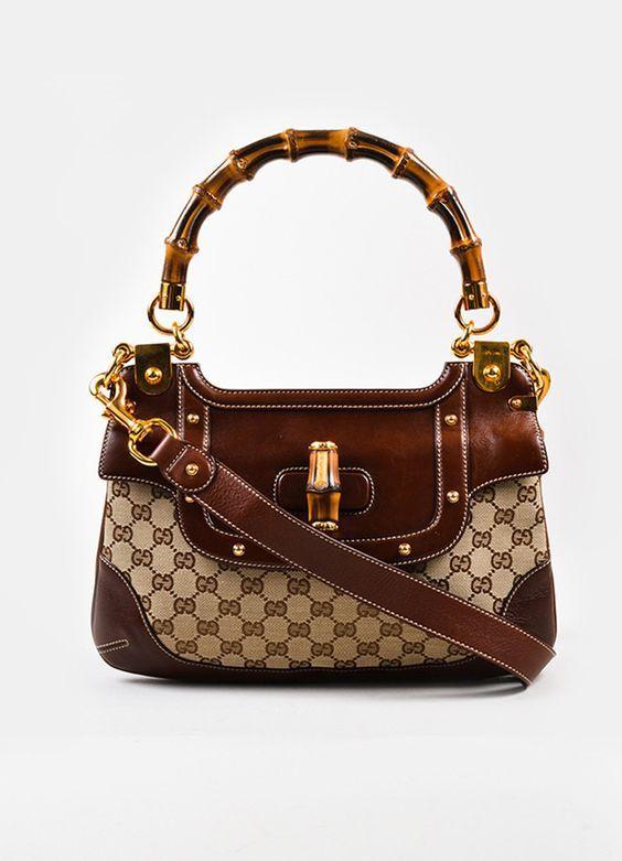 Gucci Bamboo Handbags collection & more