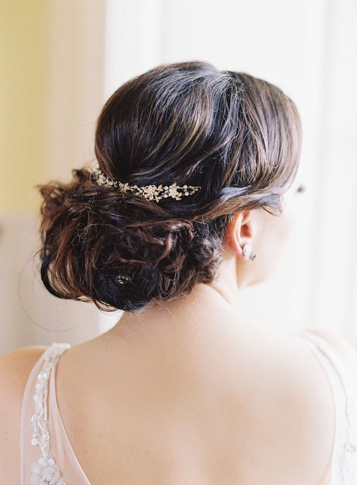 Featured Photographer: Michael and Carina Photography; Wedding hairstyles ideas.