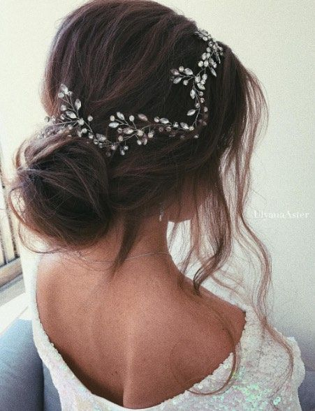 Wedding Hairstyle Inspiration - Ulyana Aster