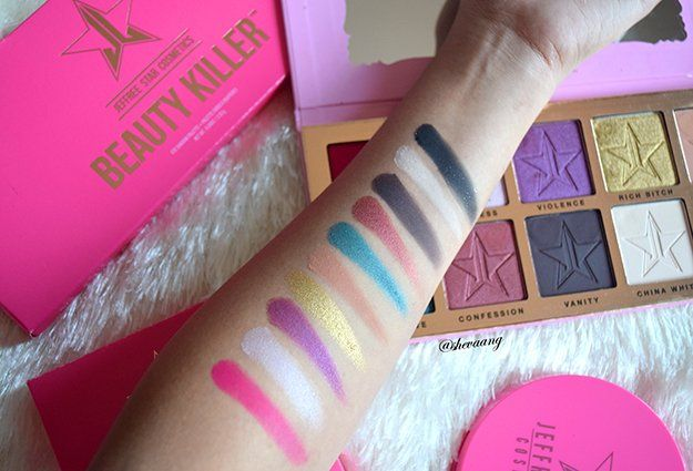 Jeffree Star Beauty Killer Palette And Skin Frost Review, check it out at makeup...