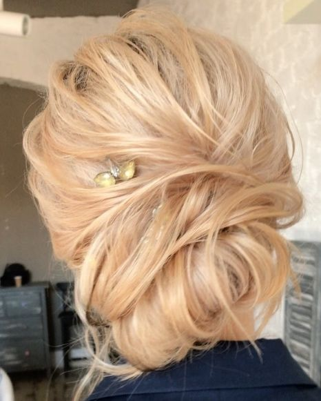 Featured Wedding Hairstyle: tonyastylist (Tonya Pushkareva); www.instagram.com...