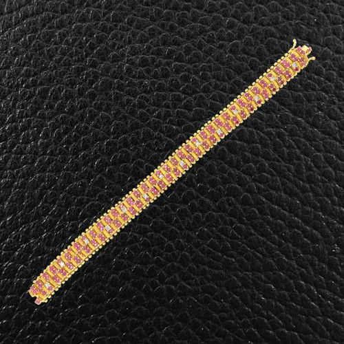 Ruby & Diamond Estate Bracelet – CRAIGER DRAKE DESIGNS®