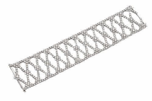 Wide Diamond Bracelet – CRAIGER DRAKE DESIGNS®...