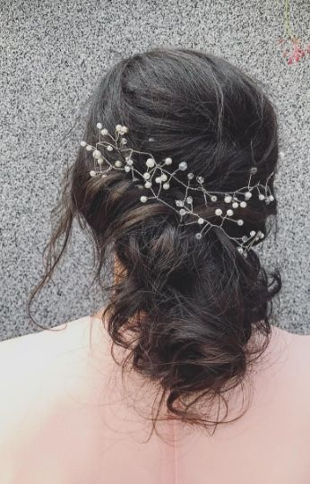Featured Hairstyle: tabitth (Tabi Miclea); www.instagram.com/tabitth; Wedding h...