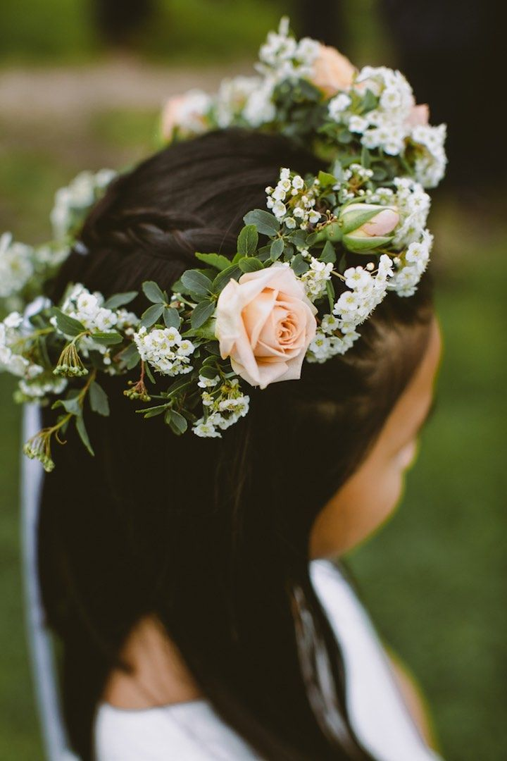 Featured Photographer: Amber Gress Photography; wedding hairstyle idea