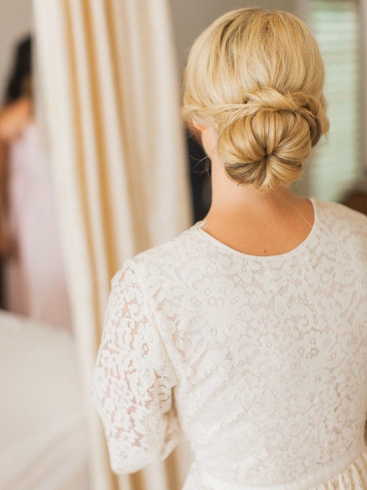 Featured Photographer: Bryan Miller Photography; wedding hairstyle idea
