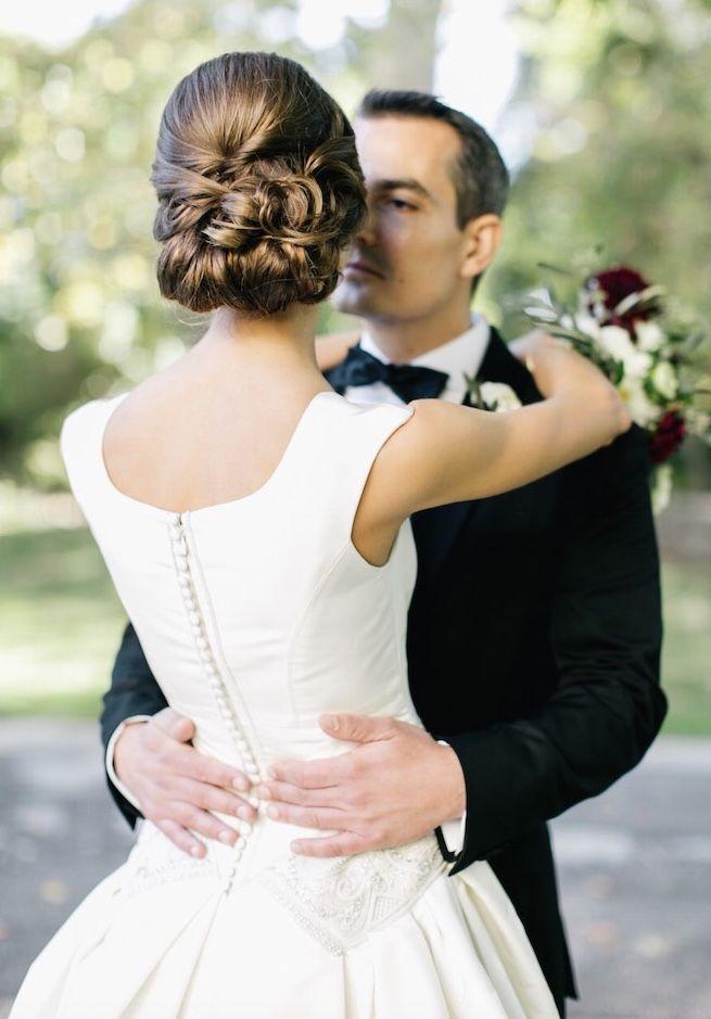 Featured Photographer: Emily Wren Photography; Wedding hairstyle idea.