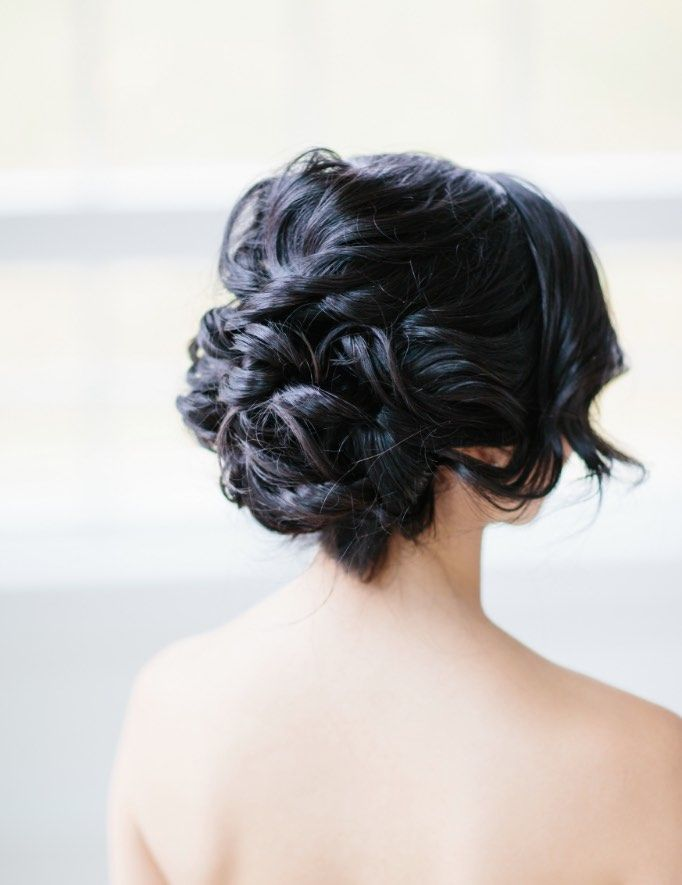 Featured Photographer: Sarah Bradshaw Photography; Wedding hairstyle idea.