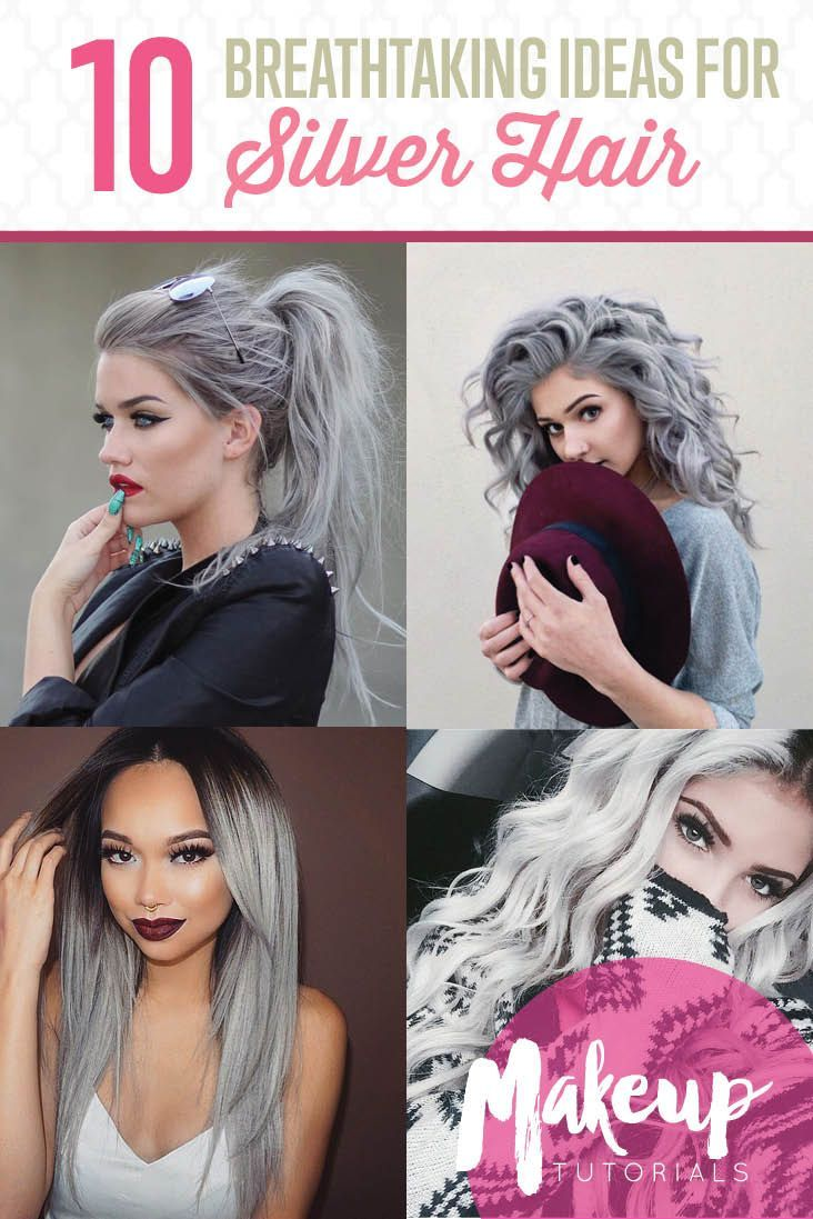 10 Awesome Silver Hair Colors Ideas | Absolutely Gorgeous And Stunning Hair Dye ...