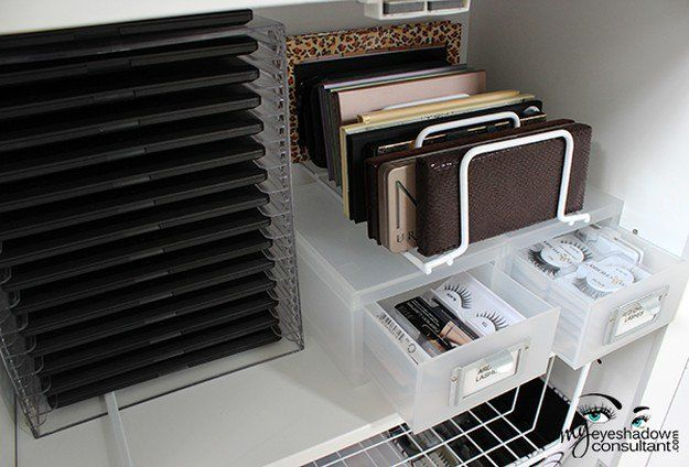 17. Magazine Rack | 17 Makeup Storage Ideas You'll Surely Love | Creative and ...