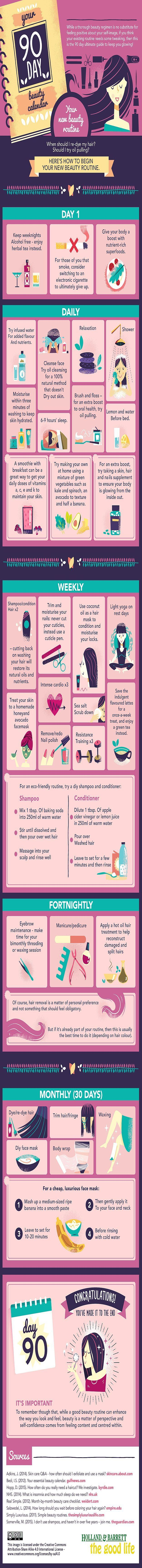 90-Day Guide to Looking Glam