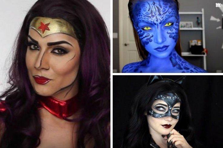 Amazing Female Superhero Makeup Tutorials | Costume Makeup Ideas