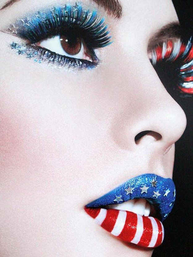 Celebrate in red, blue, and white and sparkle this Independence Day Celebration ...