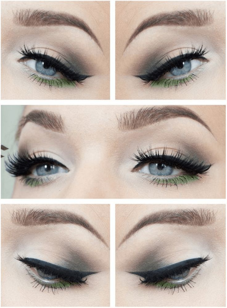 Gorgeous Green Eye Makeup | 7 Spring Makeup Looks To Inspire You, check it out a...