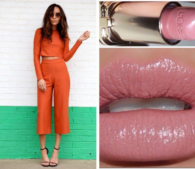 Orange and Pink Nudes   Exciting Summer Outfits To Go Well With Your Makeup   Fa...