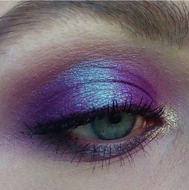 Shimmery Eyes |  | 17 Beautiful Summer Makeup Ideas You Must Try Now! by Makeup ...