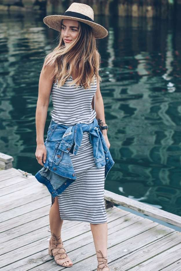 The Stripted Mini Dress | Ultimate Summer Fashion Essentials To Match Your Makeu...