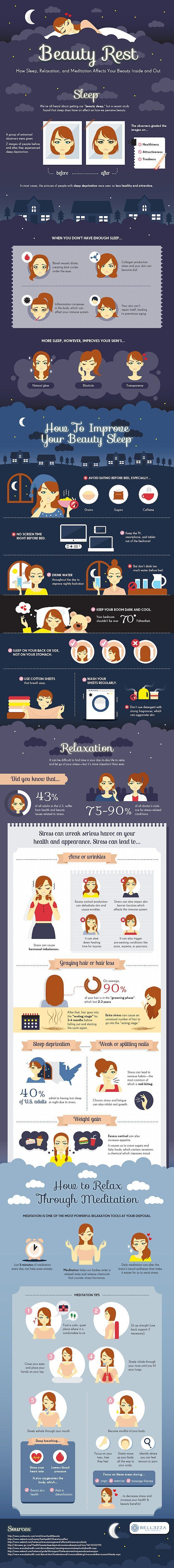 Tips to Improve Your Beauty Sleep, check it out at makeuptutorials.c...