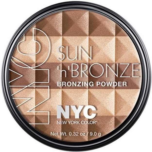 New York Color Sun 'N' Brown Bronzing Powder, Coney Island Glow   Walmar...