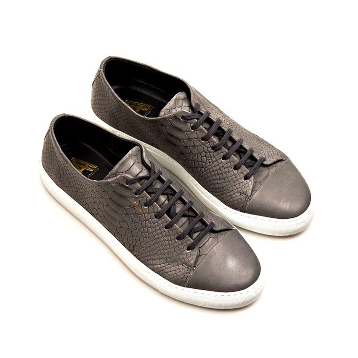 Cap-toe sneaker...