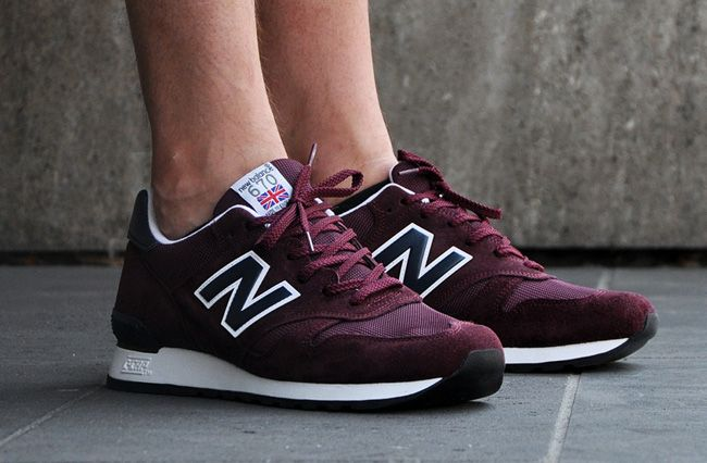 Great shoes and color! the new black so called! New Balance 670 | Burgundy & Nav...
