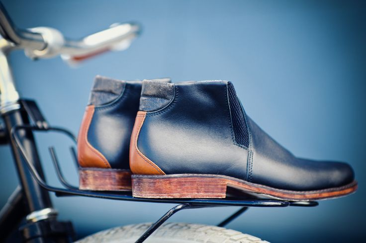 Handmade shoes and leather accessories for men.