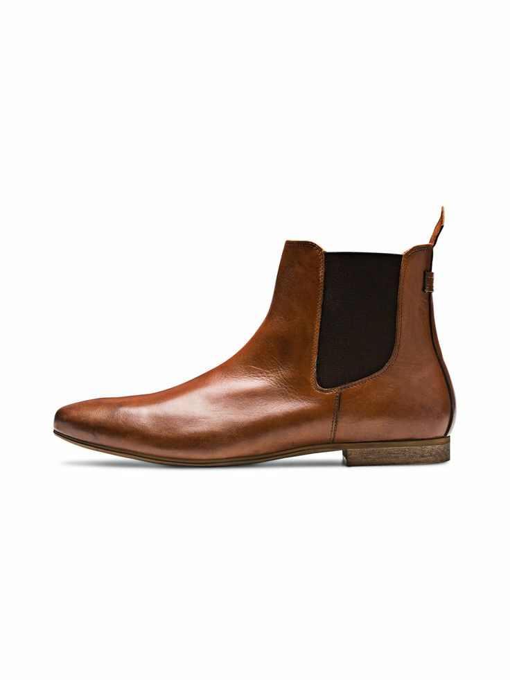 JJ Walden Chelsea Boot, Cognac, large