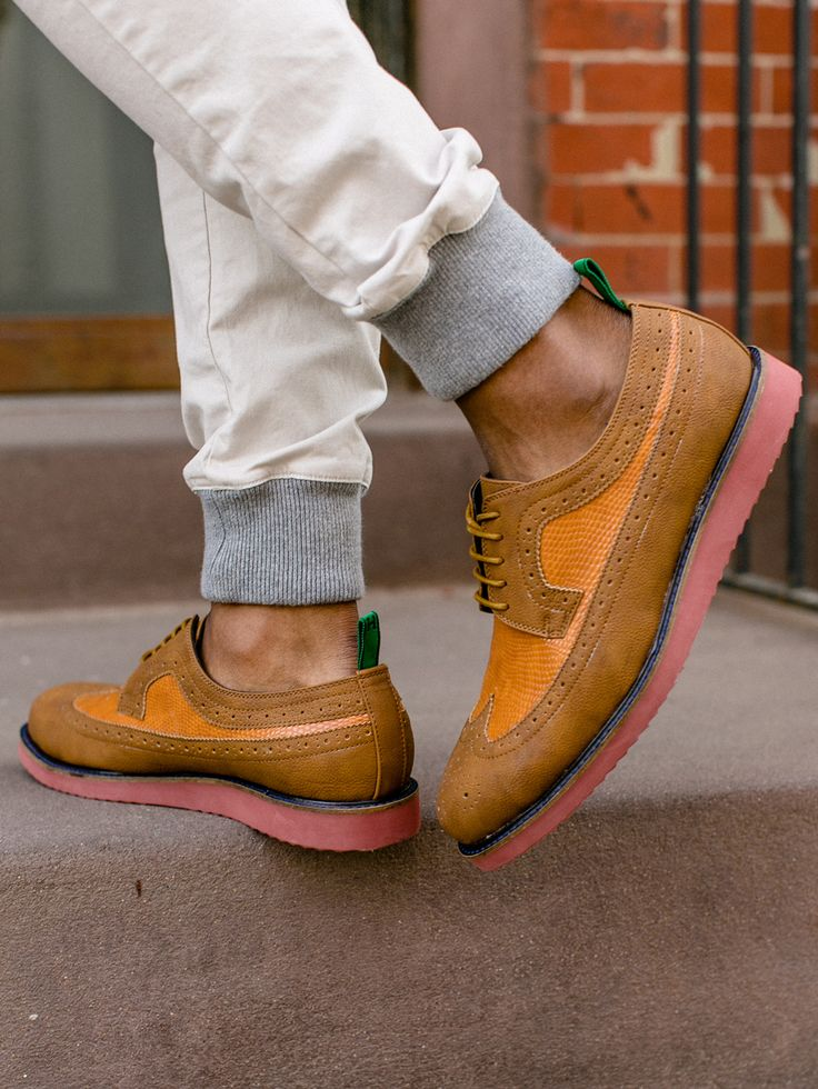 The Comfort of Sneakers x The Class of Wingtips = The Hillsboro Rob