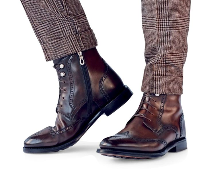 Wingtip boots. What do you think?