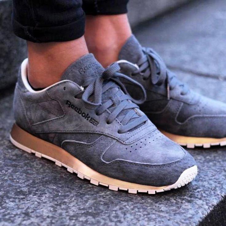 Sneakers femme - Reebok Classic Leather Metal...