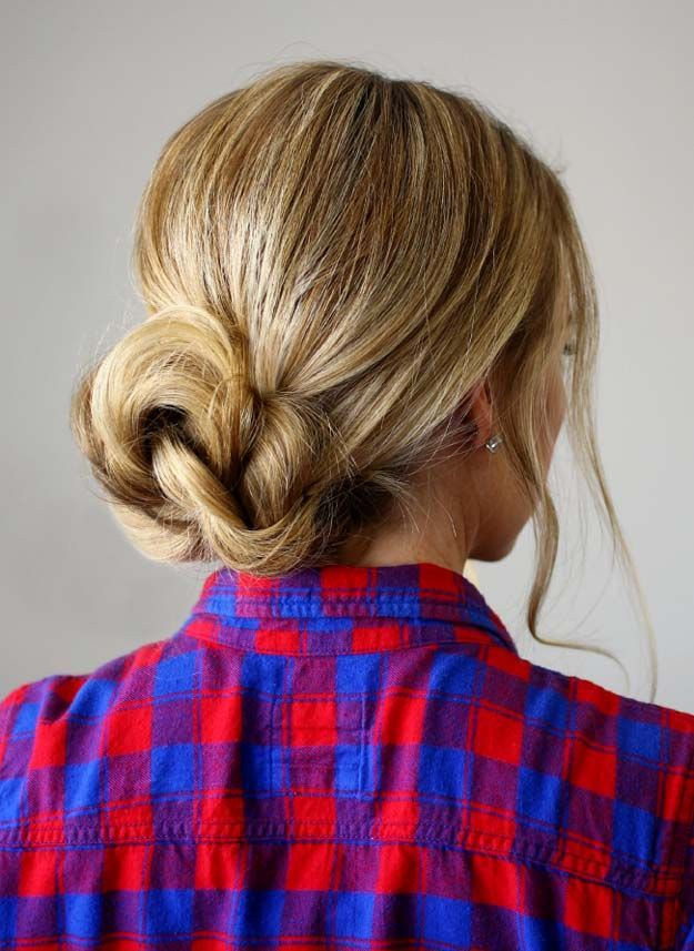 Braided Bun | 20 Hairstyles for Work | Quick and Easy Hairstyles You Can Do