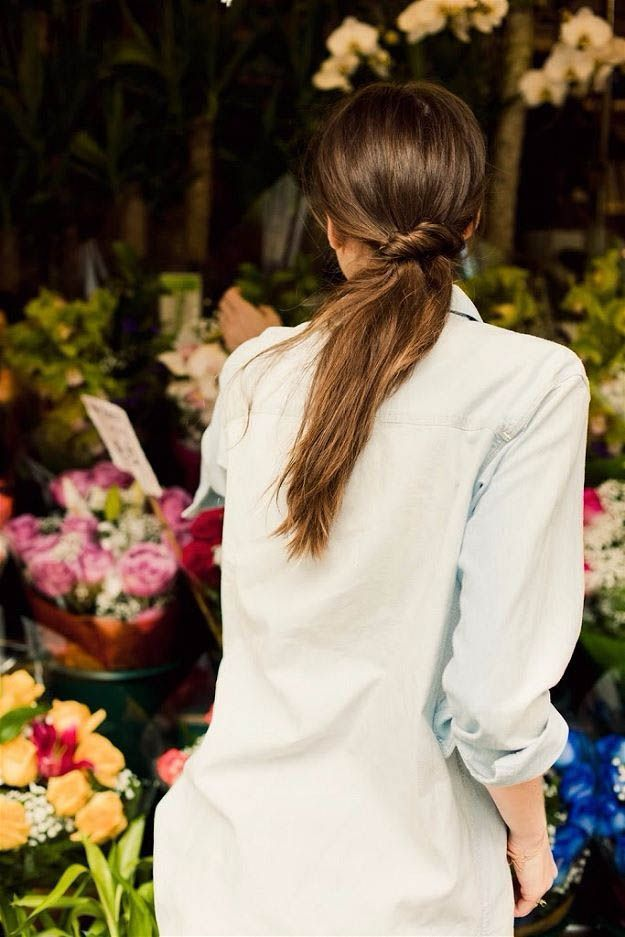 Ponytail With A Twist | 20 Hairstyles for Work | Quick and Easy Hairstyles You C...