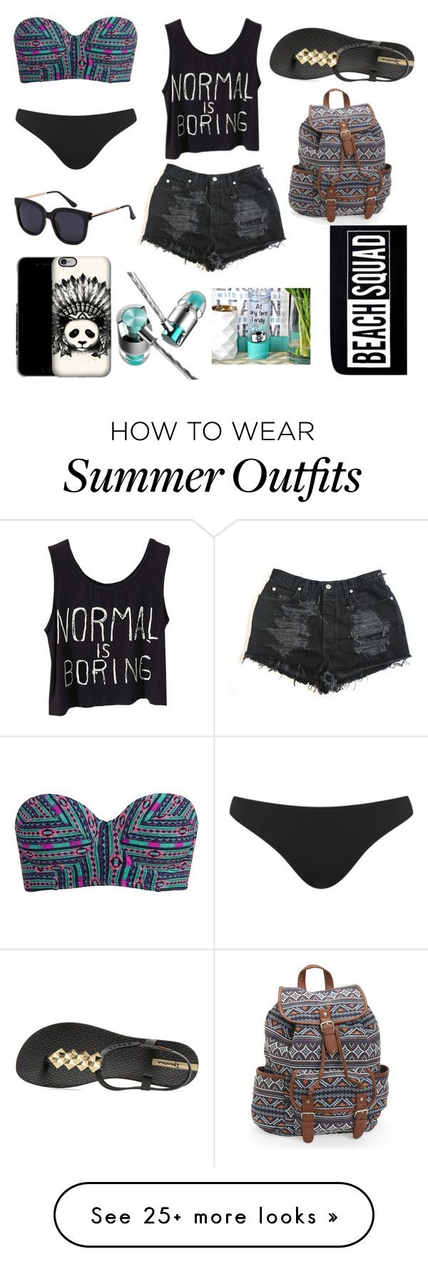 """Summer Outfits : """"Beach Outfit"""" by haydivalladolid on ..."""