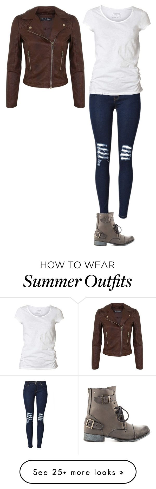 """Summer Outfits : """"Summer of 2016-outfit 27"""" by umanamelb ..."""