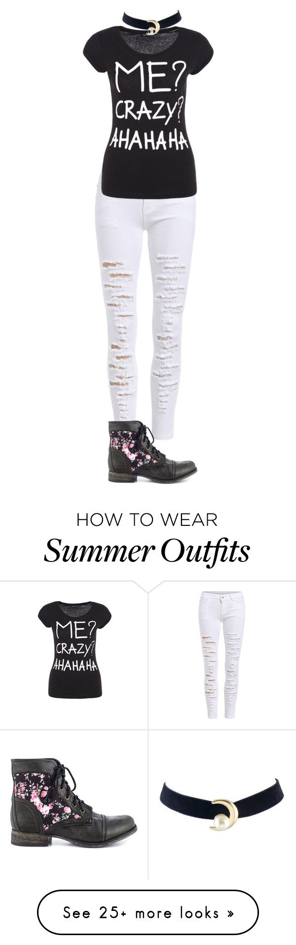 """Summer Outfits : """"Summer of 2016-outfit 30"""" by umanamelb ..."""