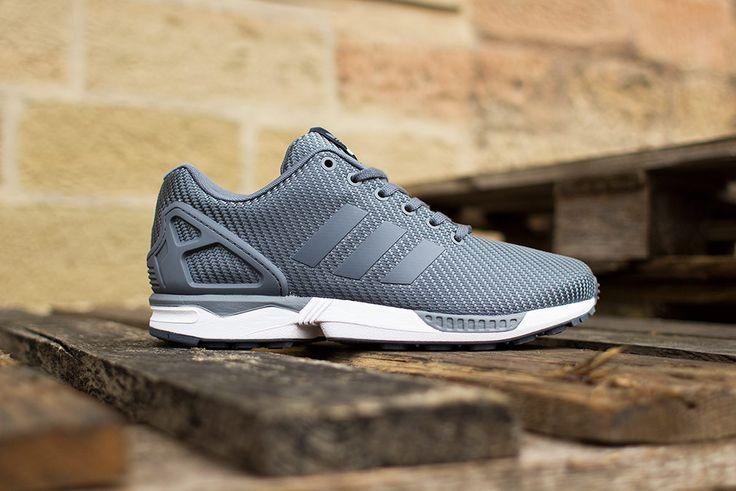 adidas ZX Flux 'Ballistic Woven' (Onix Grey) - EU Kicks: Sneaker Magazin...
