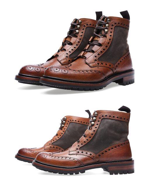 Barbour X Chaeney Rushton Brogue Boot AW13