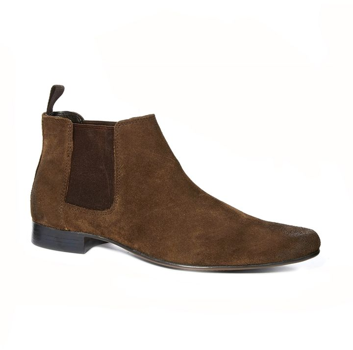 Brown Suede Chelsea Boots by Asos. Buy for $30 from Asos