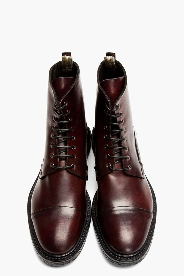 The Best Men's Shoes And Footwear : Burgundy Leather ...