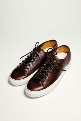 Buttero Tanino Leather Dark Brown