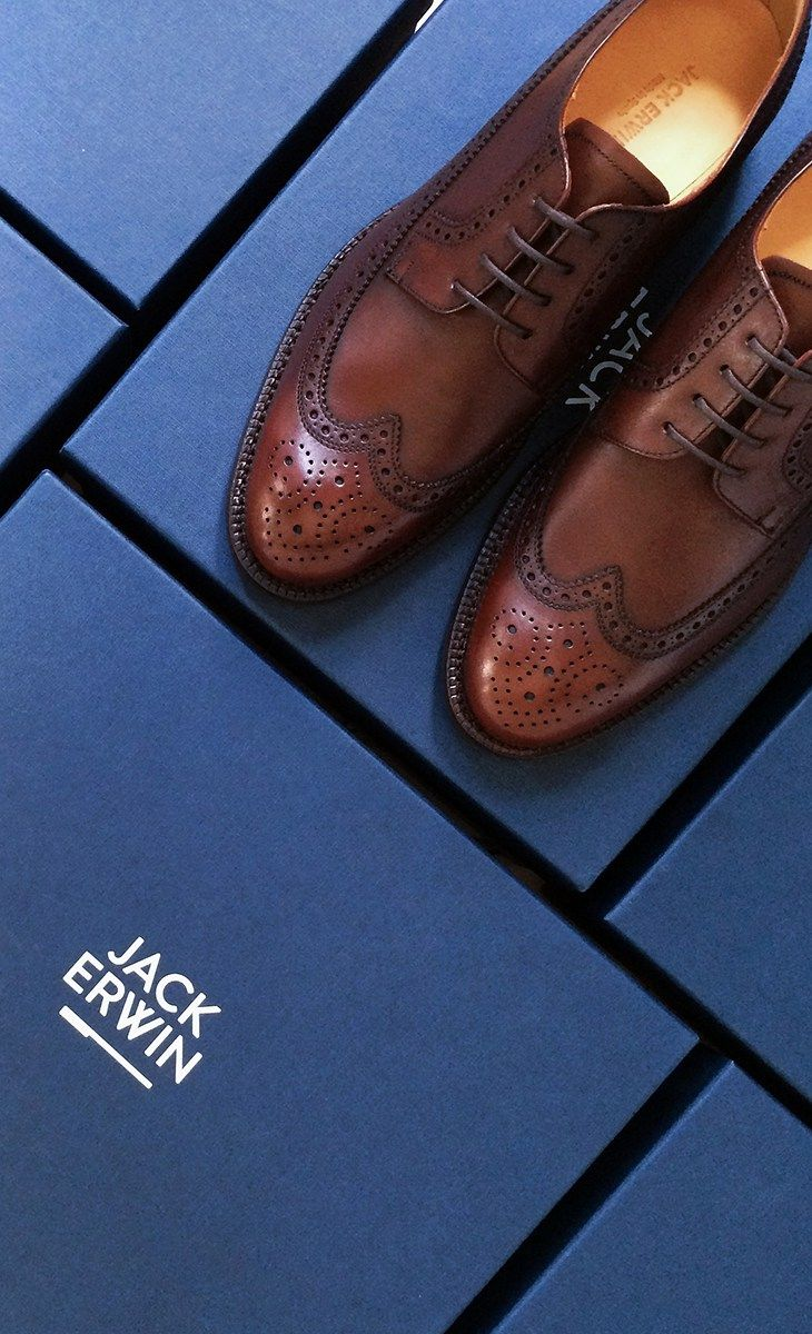 Dashing and dead serious, The Hubert long-wing blucher doesn't play games. He...