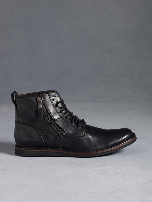 John Varvatos Barret Side Zip boot