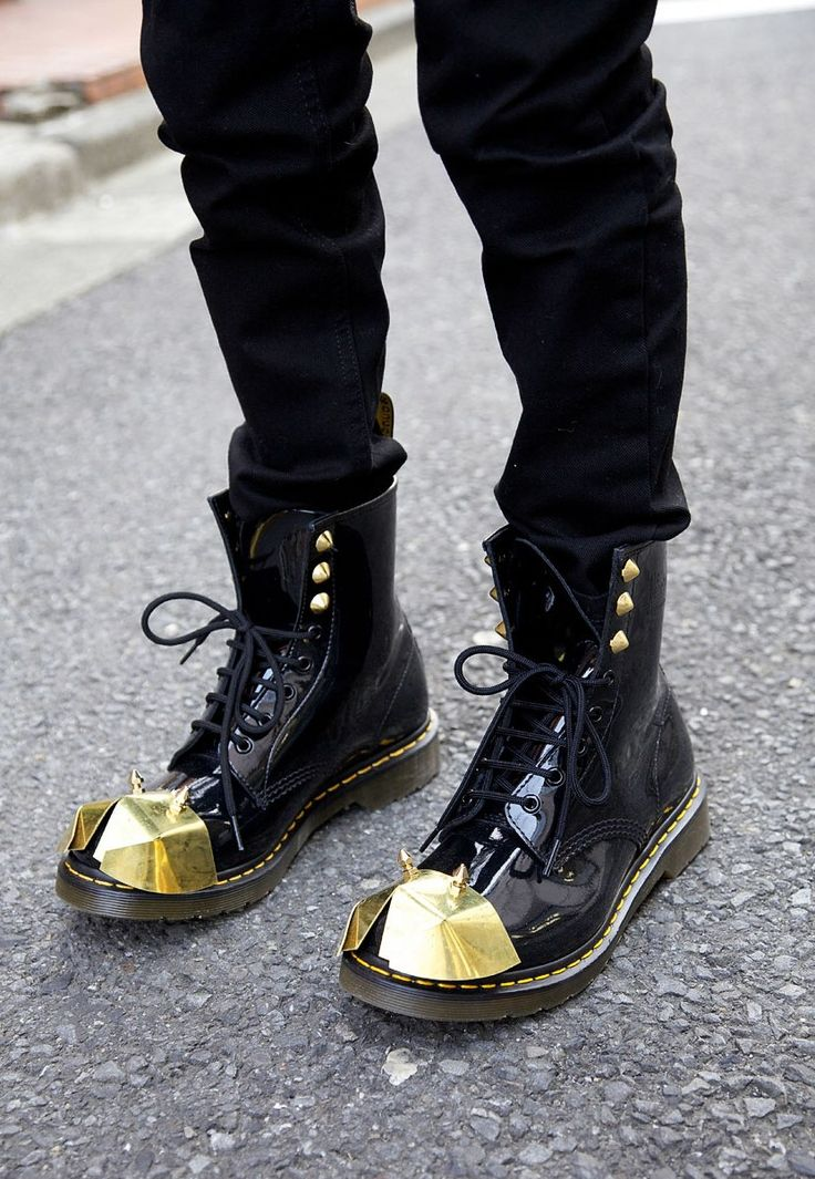 black and gold docs.