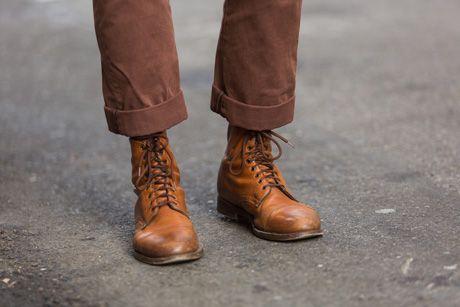 Casual men's lace-up boots, RRL